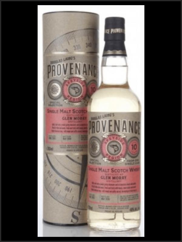 Glen Moray 10 Douglas Laing Provenance