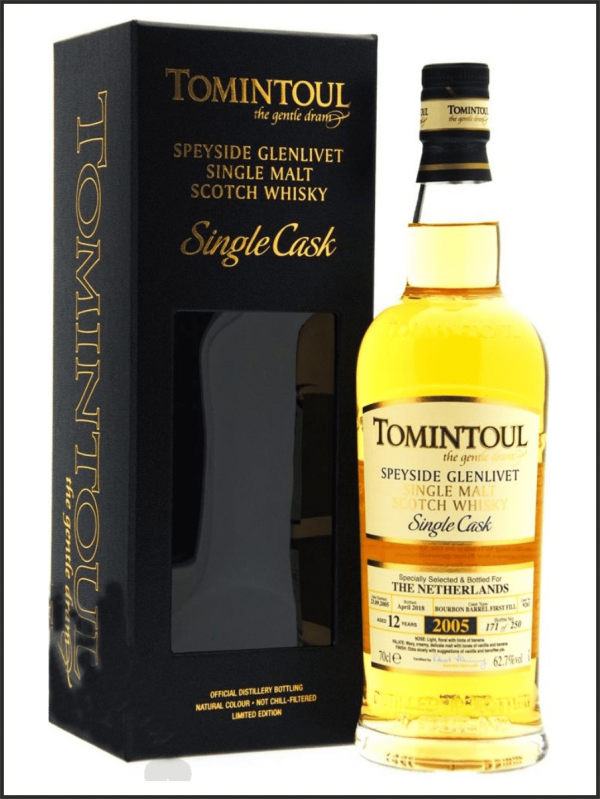 Tomintoul 12 Single Cask for the Netherlands