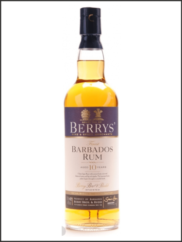 Berry's Barbados Rum 10yo