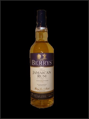 Berry's Jamaican Rum 12yo