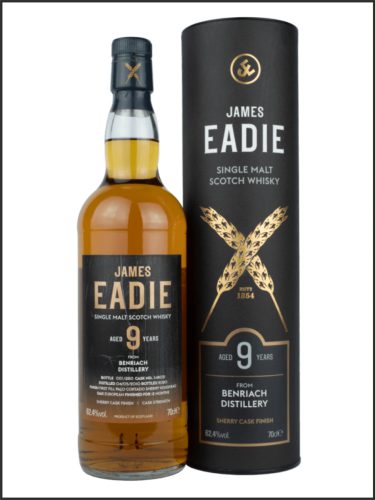 James Eadie Cask Finish Benriach 2011 9yo - First Fill Palo Cortado Sherry Finish