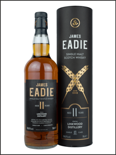 James Eadie Single Cask Linkwood 2009 11yo