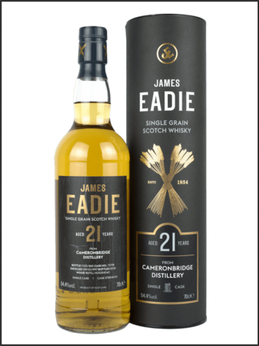 James Eadie Single Grain Cameronbridge 1997 21yo