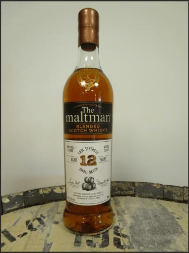 The Maltman Single Cask Blended Scotch Whisky 12yo 2008