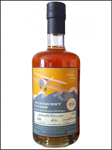 Bowmore 22yo 1997 AWWC Infrequent Flyers